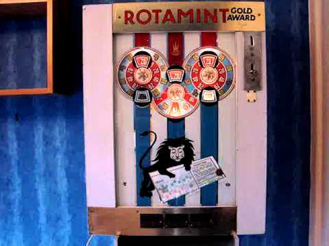 Rotamint record slot machine