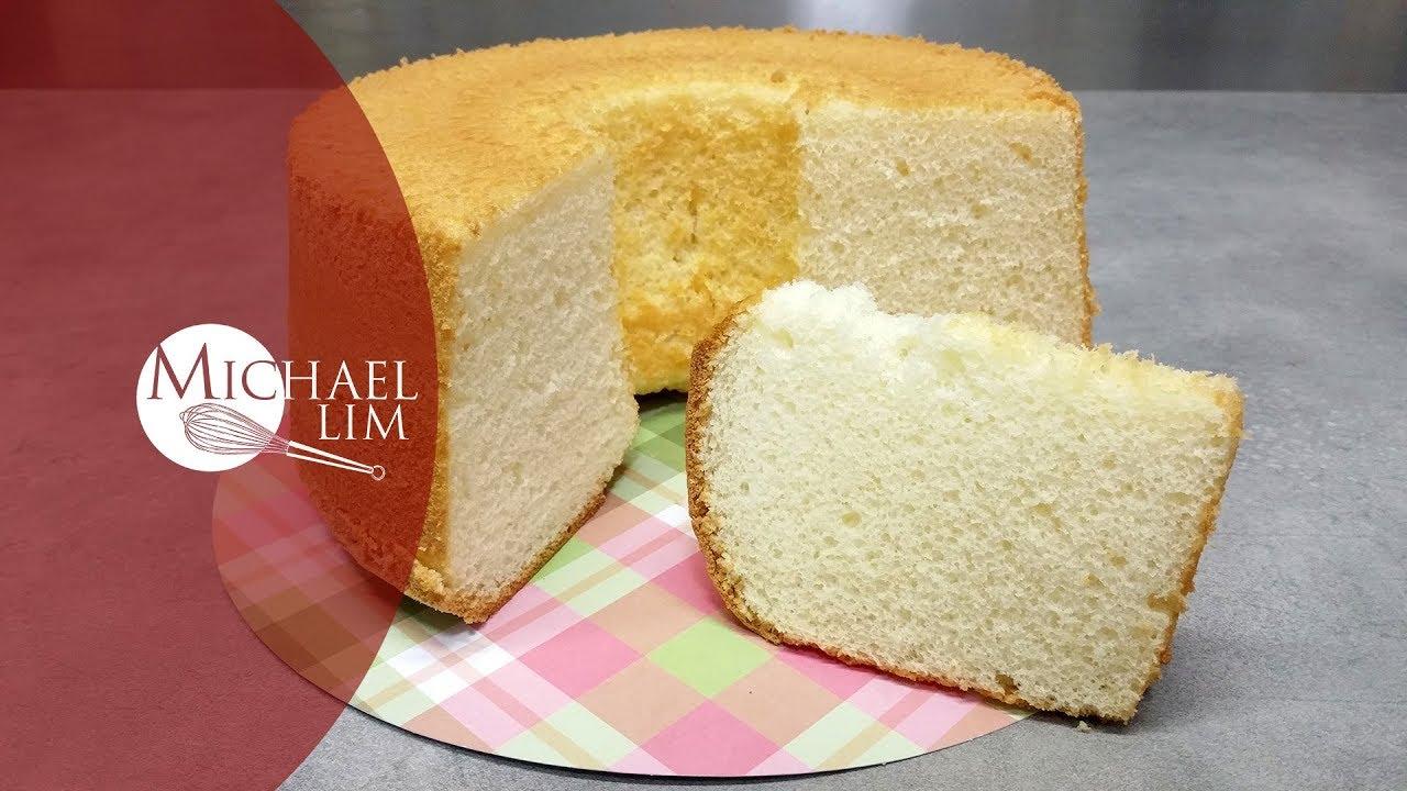 Michael Lim Chiffon Cake