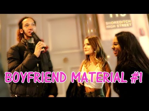 Asking GIRLS What BOYFRIEND Material is In SHOREDITCH