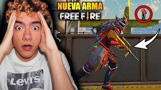 USO LA NUEVA ARMA DE FREE FIRE *AUG* Y DESTROZO A TODOS LOS JUGADORES EN LA PARTIDA | TheDonato