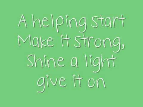 Disney's Friends For Change - Send It On (Lyrics + Download)