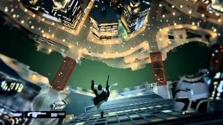 Watch Dogs EXTREME Jump from Triomphe Tower