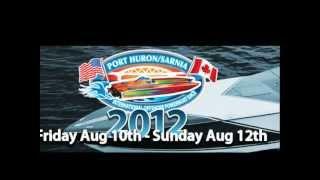 2012 Port Huron/Sarnia International Offshore Powerboat Race