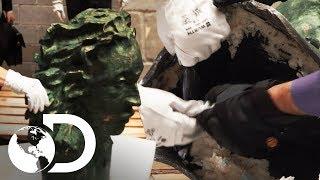15 Kg de substâncias dentro de um busto de bronze | Controle de Fronteiras | Discovery Brasil