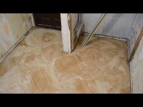 Раскладка плитки по диагонали,кухня,коридор,прихожая