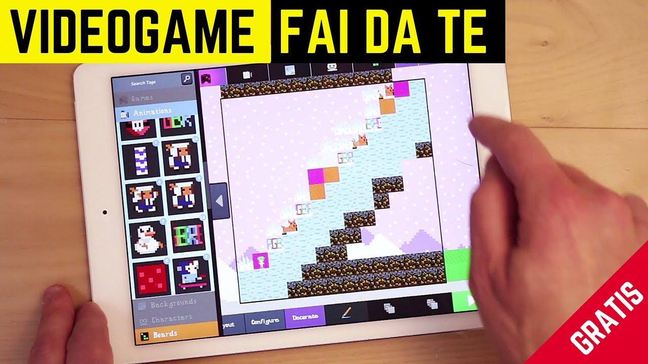 Come fare un videogame per gioco gratis e divertente con bloxels youtube - Portacellulare da tavolo fai da te ...