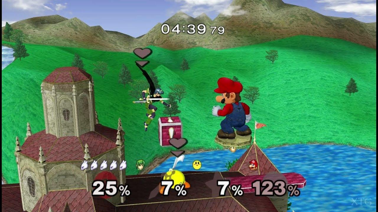 Super Smash Bros. Melee GameCube Gameplay HD (Dolphin Emulator ...