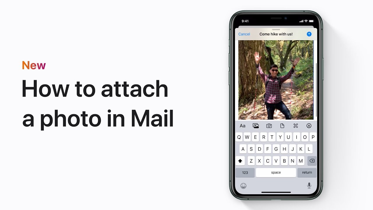 Add Attachment To Iphone Email how to attach a photo in mail in ios 13 on your iphone, ipad, or ipod touch  – apple support