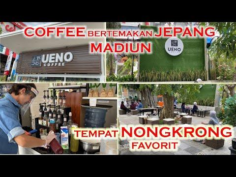 COFFEE BERTEMAKAN JEPANG , UENO COFFE MADIUN
