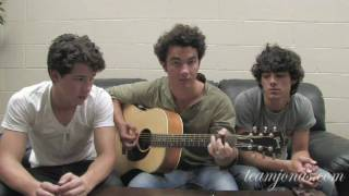 "Jonas Brothers - Team Jonas ""Fly With Me"" Cover Contest"