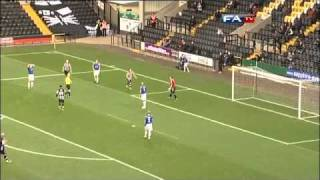 Notts County 2-0 Gateshead - The FA Cup 1st Round - 06/11/10