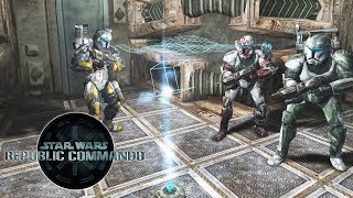 Star Wars REPUBLIC COMMANDO All Cutscenes Movie (Game Movie)