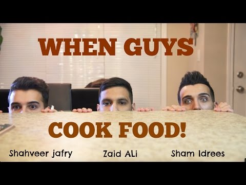 Funny Stories Here - When Guys COOK Food Funny