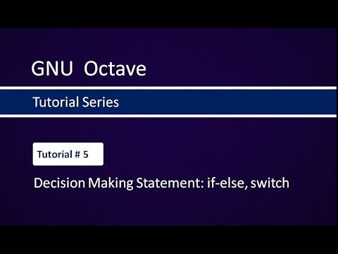 Introduction to gnu octave.