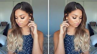 Bronze Dewy Summer Makeup Tutorial | Ashley Bloomfield