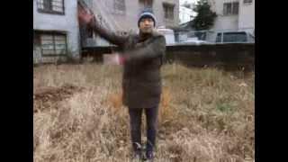 2013年12月18日の眞島竜男の踊り.