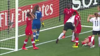 Germany v. Canada, Canada 2014 HIGHLIGHTS