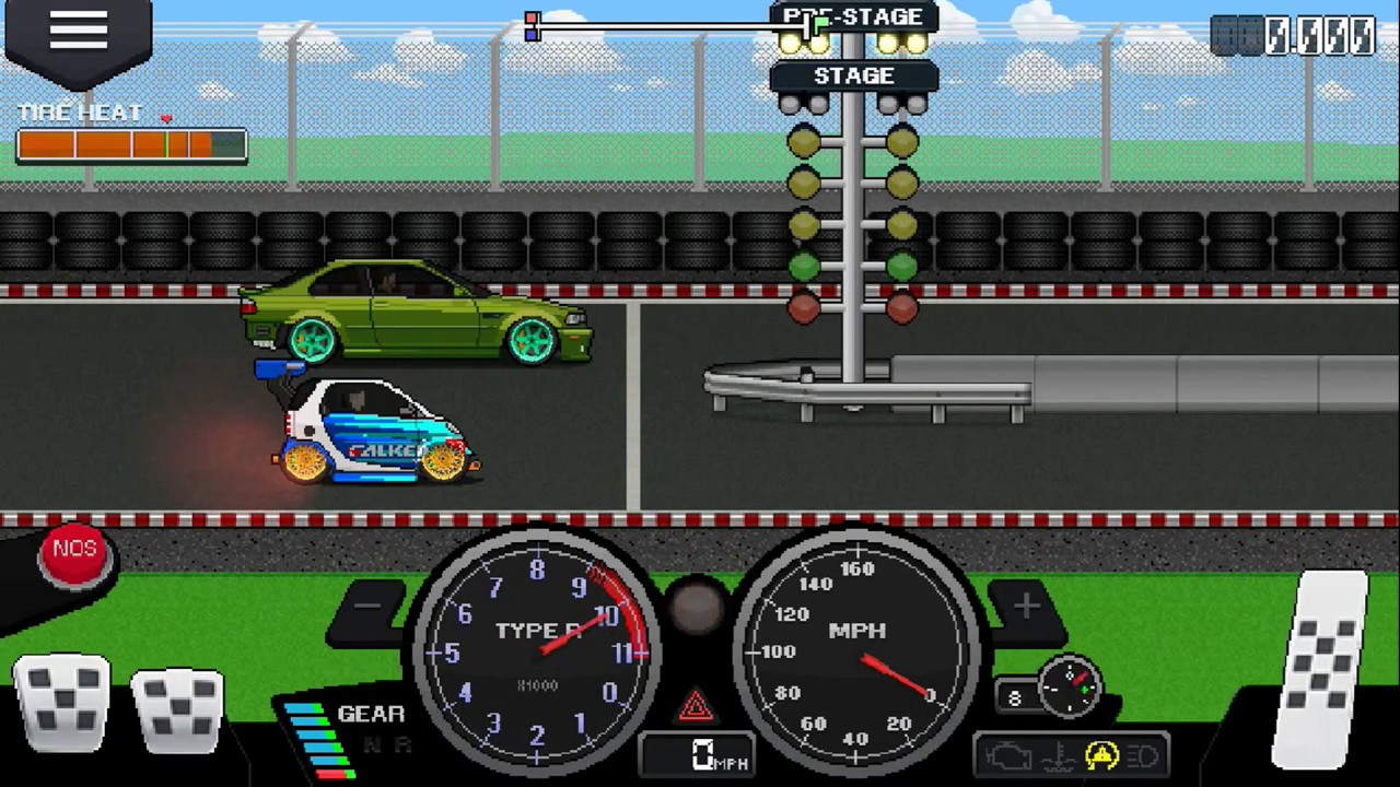 Pixel Car Racing Corvette Tune This Is The Tune I Use In My Corvette
