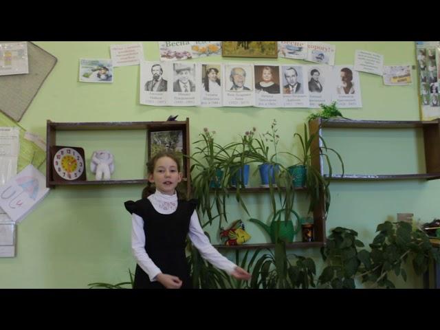 Изображение предпросмотра прочтения – ЛилияЗинина читает произведение «Весной» Т.А.Шорыгиной