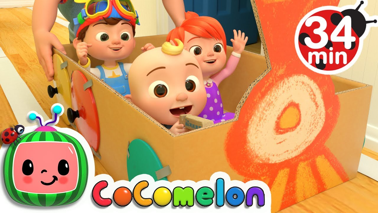 Train Song + More Nursery Rhymes & Kids Songs - CoComelon