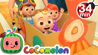 Train Song + More Nursery Rhymes & Kids Songs  CoComelon