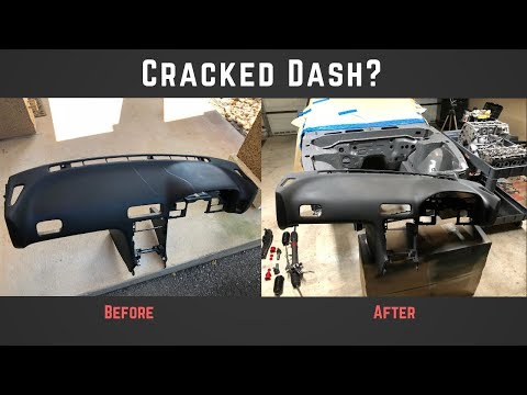 180sx Cracked Dashboard Repair