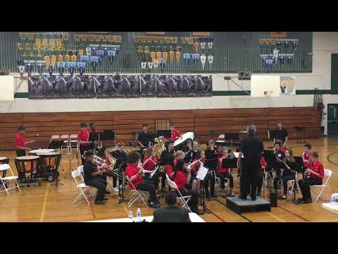 March On, America!, Arr. Wagner, PMS Advanced Band