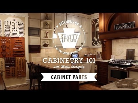 5 - Cabinetry 101: Cabinet Parts