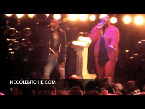 Kanye West ft Rick Ross  Devil In A Red Dress  @ The Bowery
