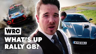 Driving An Aston Martin DBS Superleggera At Wales Rally GB | WRC 2019