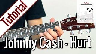 Johnny Cash - Hurt | Gitarren Tutorial Deutsch