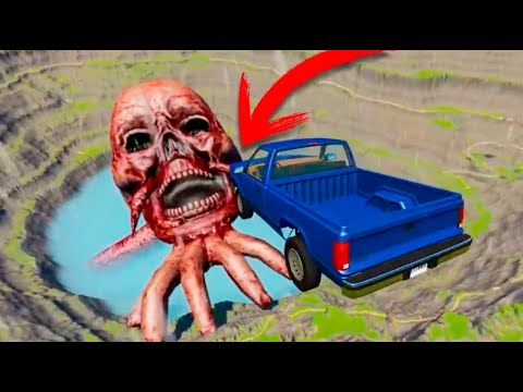 Download COCHE VS ZOMBIE GIGANTE BEAMNG DRIVE !!