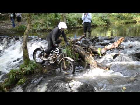 Classic Bikers Club: Classic Manx Two Day Trial 2012 - Isle of Man