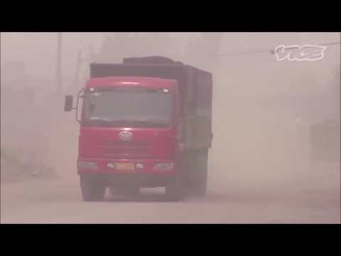 Air Pollution Caused By Coal In Cement Factories In Egypt