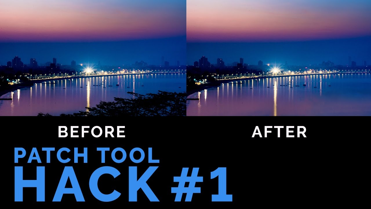 How to Remove Items in Photoshop Like a BOSS | Patch Tool Hack #1