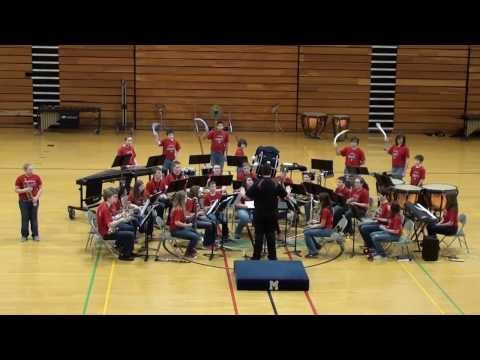 St. James Middle School 8th Grade Band -- 2014 Marshfield Middle School Music Festival