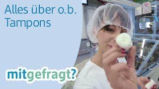 Alles über o.b. Tampons - von o.b. Pro Comfort bis o.b. Flexia - dm mitgefragt? Folge 35