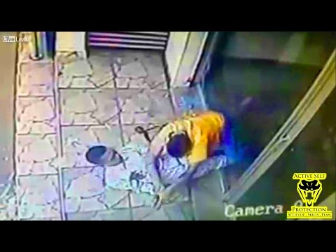 Cop Shoots Armed Robber, and Then the Fight Starts | Active Self Protection