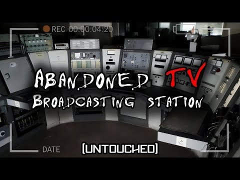 Abandoned TV broadcasting station [UNTOUCHED] - URBEX BELGIUM Lost space center