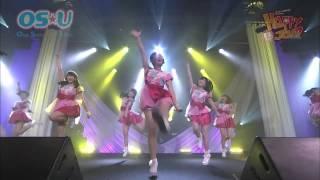 名古屋・大須を拠点とするOS☆Uのライブ映像の一部.