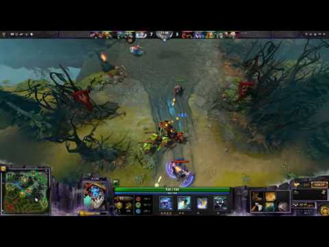 Dota 2 - Xboct plays Slark Carry with Echo Saber and Silver Edge - Full Game