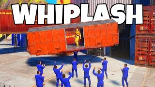 Whiplash Crash Valley! - Crash Test Ragdoll With Physics! - Let's Play Whiplash Gameplay