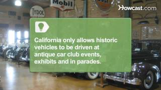 How to Register a Classic Car