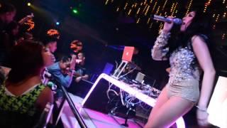 V2 Club Jakarta Dj Magita Feat Manda Cello Live P.a 26 Sept 2014