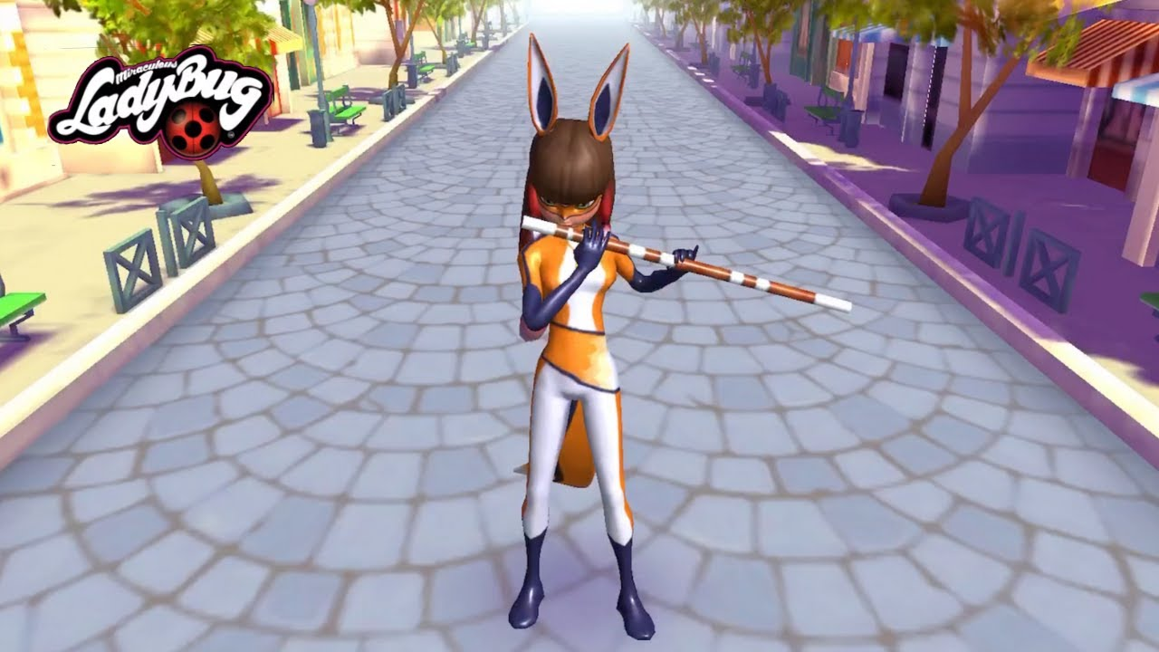 Download Miraculous Ladybug & Cat Noir 🐞 Face off with dangerous villain VOLPINA w/ LADYBUG & CAT NOIR!