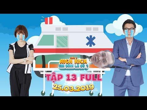 Gia đình là số 1 Phần 2 | tập 13 full: Thuý Diễm, Quang Tuấn khóc nấc khi nhận tin ba gặp nguy kịch?