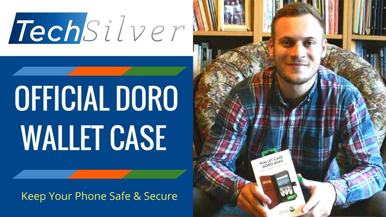 innovative design e0455 68985 Official Doro Wallet Case - High Quality Protection (8040/8035/8030 + More)  [2019]