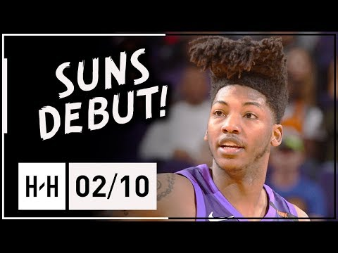 Elfrid Payton Official Suns Debut, Full Highlights vs Nuggets (2018.02.10) - 19 Pts, 9 Ast, 6 Reb!