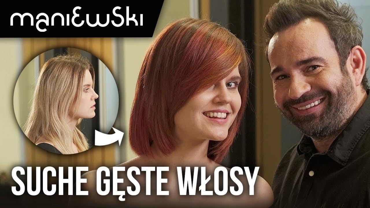 Suche Gęste Włosy Jak Sobie Z Nimi Radzić Metamorfoza Włosów Grubych Maciej Maniewski