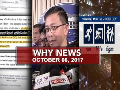 UNTV: Why News (October 06, 2017)